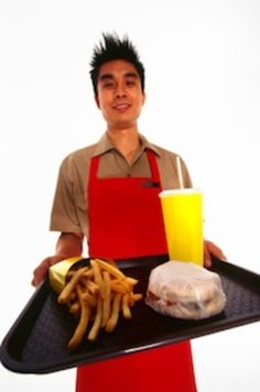 Another reason fast food is scary - people who spit in your food.