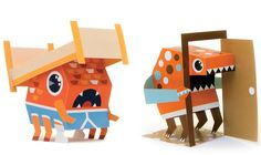 paper toy inspiration - Google Search