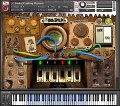 Toolshed v2 KONTAKT HORiZON | December 7, 2014 | 565 MB MASSIVELY updated library from 2012. I had visited my toolshed already during recordings for the C