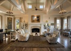 """Alexa Hampton's favorite creamy white:  """"the creamiest off-white for moldings, doors, and baseboards. """"Benjamin Moore Ivory White 925"""". Phillip W Smith General Contractor, Inc."""