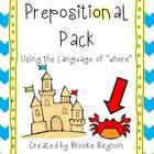 Practice the language of position with these preposition cards. $