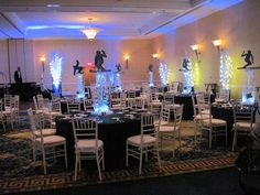 Gold Events decorates a bar mitzvah at the Renaissance Providence Hotel by Gold Events, via Flickr