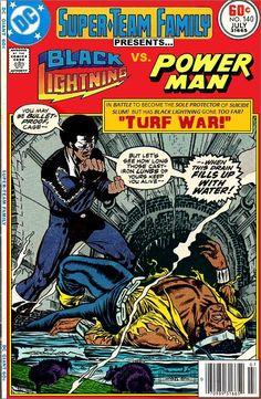 Super-Team Family: The Lost Issues!: Black Lightning Vs. Power Man