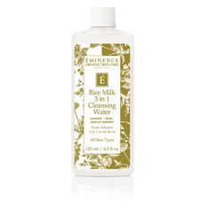 Rice Milk 3 in 1 Cleansing Water | Éminence Organic Skin Care