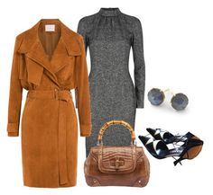 """""""Monday:  work outfit, chilly morning"""" by bsimon-1 ❤ liked on Polyvore featuring moda, Dolce&Gabbana, IRO, Chanel, Gucci y Ippolita"""