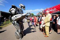 IMaginer vous devant ce robot