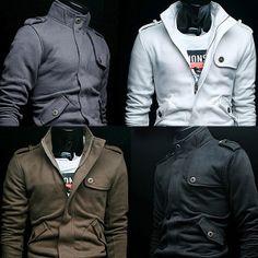 $28.95 Gun Flap Sweatshirt Jacket at Sneak Outfitters http://www.sneakoutfitters.com/Tops/Hoodies-Sweatshirts/Gun-Flap-Sweatshirt-Jacket-p3870.html