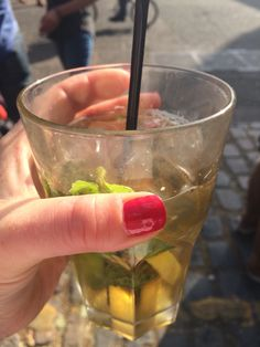 The taste of summer {pimms}