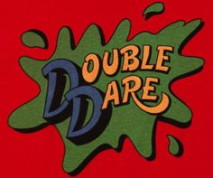 This Nickelodeon Double Dare t-shirt will get you ready for the physical challenge. Even without host Marc Summers, this TV show Double Dare tee will encourage you to make your own mess. 80s Kids Shows, 90s Kids, 90s Games, Dare T Shirt, Press Your Luck, Double Dare, 90s Nostalgia, Do You Remember