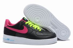 Nike Air Force 1 London Black Fireberry @oldschoolsilver