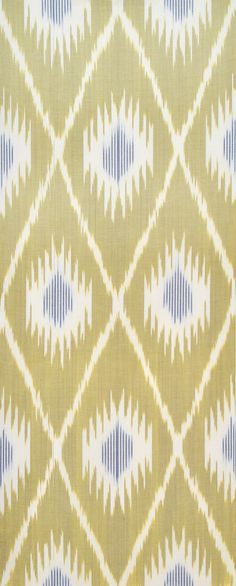 Sale! Ikat Fabric, Ikat Fabric by the yard, Hand Woven Fabric , F-A460-10