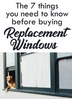 7 Things you should consider when buying replacement windows.. What to be on the look out for and what to watch out for, so you get the best value and long lasting quality window!