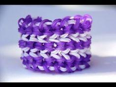 Rainbow Loom - Triple Miami Bracelet - English Tutorial - Loom bands