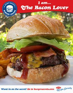 My honorary title in the Secret Society is The Cheese Whiz. Want in on the secret? Go to burgersecrets.com