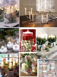 christmas candles pinterest | Christmas candle inspiration | The Womens Room
