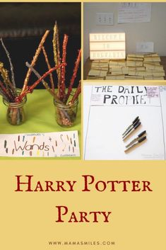 Harry Potter birthday party ideas for eleven year olds. Simple accessible Harry Potter themed birthday party activities that delight. #kidspartyideas #harrypotter #kidsactivities #hp #wizardparty