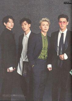 Choi Siwon, Lee Donghae, Kim Heechul, Leeteuk, Super Junior Donghae, Last Man Standing, Fanart, Fashion Tv, K Idol