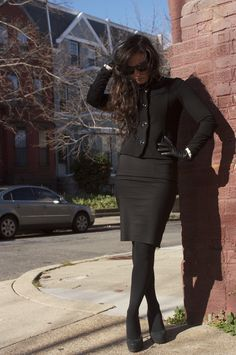 Abbey Brandon, Fashion Blogger. Blog: District Dress Up.  District Dress Up: First Lady
