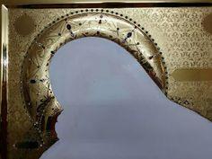 Jewels, Ornaments, Mirror, Decor, Gold, Dekoration, Decoration, Jewelery, Mirrors