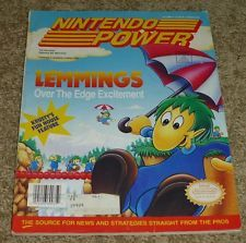 Nintendo Power Magazine Issue - Vol. 37, June 1992 - Lemmings 4-8