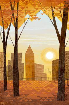 Shades of Autumn by Dan Liuzzi