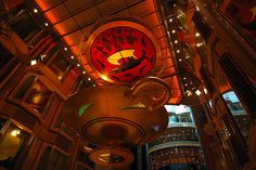 As good as gold in the Royal Promenade on Independence of the Seas.
