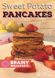 Sweet potato pancakes, Potato pancakes and Pancakes on Pinterest