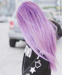 Фиолетовый волосы