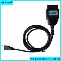 ALKobd for ford focom obdii diagnostic interface, for ford vcm obd focom ecu scan cable, Focom OBD2 Scan tool