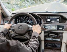 ¿Cómo actualizó Mercedes el interior del Clase E 2013? (© Mercedes-Benz)