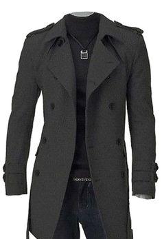 HKJIEVSHOP Men's Slim Fit Double Breasted Strap Trench Coat Long Jacket Overcoat http://www.amazon.com/HKJIEVSHOP-Double-Breasted-Trench-Overcoat/dp/B00MIE9TLC/ref=sr_1_193?ie=UTF8&qid=1416510694&sr=8-193&keywords=trench+coat+pattern