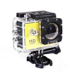 Купить Sj4000 1.5 HD 1080 P действие спорт DV камерой шлем цифровая камера водонепроницаемая желтыйи другие товары категории Камеры и фотов магазине Style-Your-LifeнаAliExpress. плоскости камеры и камеры с сенсорным