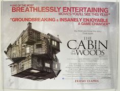 Cabin In The Woods (The) - Original Quad Movie Poster