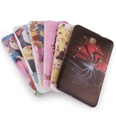 """For Samsung Galaxy Tab A T280 Case Cartoon Silicone Soft TPU Back Cover for Samsung Tab T285 7.0"""" Tablet Cases+Screen Protector"""