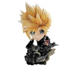 Square Enix Final Fantasy: Trading Arts Kai: Cloud Mini Figure