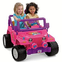 Power Wheels Fisher-Price Barbie Jammin' Jeep