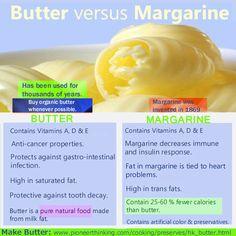 margarine vs butter