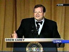 Drew Carey 2002 White House Correspondents' Dinner. I've been looking for this. It's worth listening to!