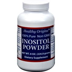 Healthy Origins Inositol Powder - 600 mg - 8 oz - Healthy Origins Inositol Powder Description: Proper functioning of nerves, brain, muscles, liver problems, depression panic attacks, diabetes and eduction of blood cholesterol levels. Free Of Sugars, starch, sodium, artificial colors, artificial flavors, preservatives, corn, wheat, soy, yeast and dairy. Disclaimer These statements have not been evaluated by the FDA. These products are not intended to diagnose, treat, cure, or prevent any…
