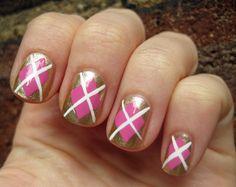 Dress Your Nails in Argyle: Mani Monday #Birchbox