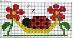 Imagen relacionada Cross Stitch For Kids, Cute Cross Stitch, Cross Stitch Cards, Cross Stitch Animals, Cross Stitching, Cross Stitch Embroidery, Cross Stitch Patterns, Hama Beads Disney, Crochet Numbers
