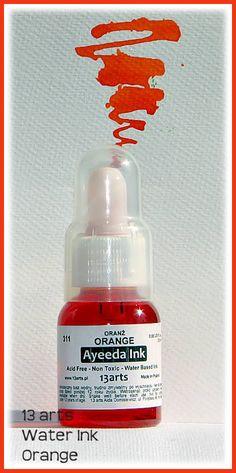 13 Arts Ink Orange