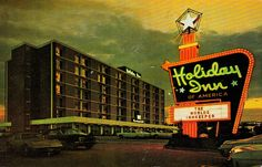 The Holiday Inn had the grooviest signs back in the day ... and I agree!!