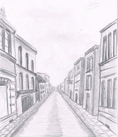 perspektywa ulicy rysunek - Szukaj w Google