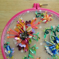 3D Embroidery by Jessica Grady