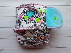 Lilly&Frank-Fitted Cloth Diapers-Hybrid Cloth Diapers-Organic-Sustainable-Made In Canada-one size Cloth Diapers-Sloomb-Bee Green Naturals-Unicorn Baby-diaper Fitted Cloth Diapers, Scribble, Bee, Hearts, Honey Bees, Doodles, Bees