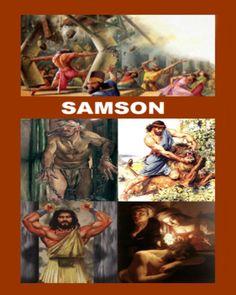 SAMSON  8 x 10 matte print