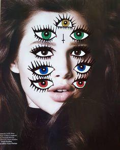 À travers tes yeux  Through your eyes . . . #illustration #art #htmart #collage #markers #posca #poscapens #doodles #artist #sunday