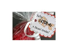 These gift tags are a perfect end of the year gift, Award or First Day of School welcoming bag (a great beginning of the year back to school gift)....