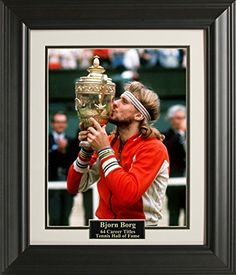Bjorn Borg Wimbledon 11x14 Photo Framed  gt  gt  gt  Check this awesome  product 468c3b533472